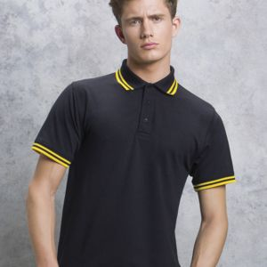 Men's Tipped Piqué Polo Thumbnail
